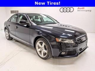 Used 2012 Audi A4 2.0T w/Leather & Sunroof *AS TRADED* for sale in Winnipeg, MB