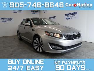 Used 2013 Kia Optima SX | LEATHER | SUNROOF | NAV | ONLY 31 KM! for sale in Brantford, ON