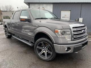 Used 2013 Ford F-150 ***LARIAT,CREW,4X4,CUIR,TOIT,MAGS,NAV*** for sale in Longueuil, QC