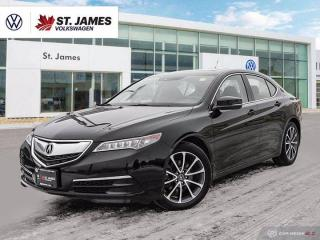 Used 2015 Acura TLX V6 Tech, Push to Start, Backup Camera, Heated Seats for sale in Winnipeg, MB