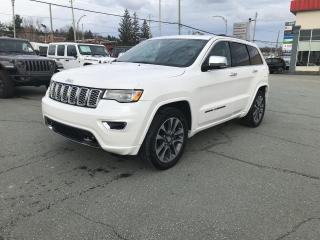 Used 2017 Jeep Grand Cherokee OVERLAND 4X4 for sale in Sherbrooke, QC