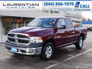Used 2018 RAM 1500 ST!!  4X4!!  BACKUP CAMERA!!  LOW KILOMETRES!! for sale in Sudbury, ON