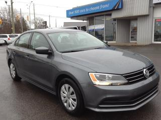 Used 2017 Volkswagen Jetta 1.4 TSI Trendline+ HEATED SEATS, BACKUP CAM, BLUETOOTH!! for sale in Kingston, ON