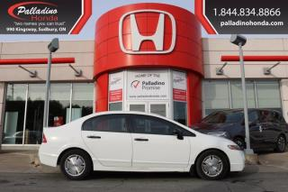 Used 2010 Honda Civic Sdn DX-G - SELF CERTIFY - for sale in Sudbury, ON