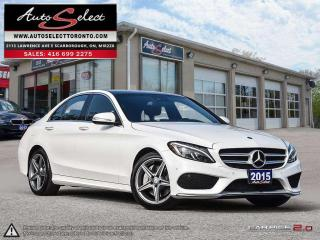 Used 2015 Mercedes-Benz C-Class 4Matic C300 AWD ONLY 105K! *AMG SPORT PKG* TECHNOLOGY PKG for sale in Scarborough, ON