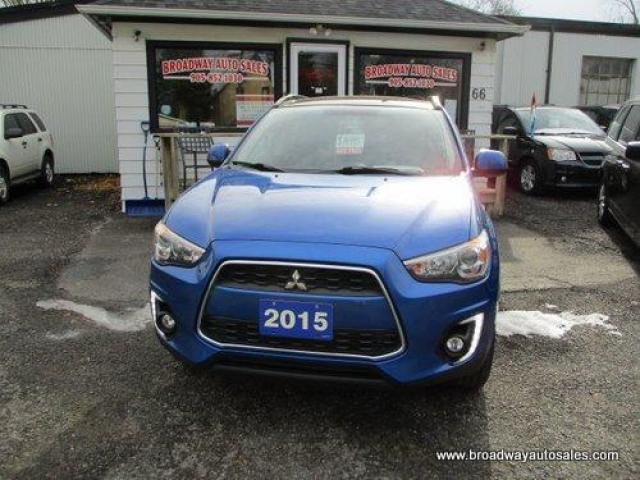 2015 Mitsubishi RVR ALL-WHEEL DRIVE GT EDITION 5 PASSENGER 2.0L - DOHC.. LEATHER.. HEATED SEATS.. TOUCH SCREEN DISPLAY.. BACK-UP CAMERA.. PANORAMIC SUNROOF..