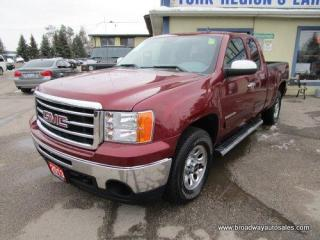 Used 2013 GMC Sierra 1500 GREAT KM'S SL MODEL 6 PASSENGER 4.8L - V8 - VORTEC.. 4X4.. EXTENDED-CAB.. SHORTY.. TRAILER BRAKE.. CD/AUX INPUT.. KEYLESS ENTRY.. for sale in Bradford, ON