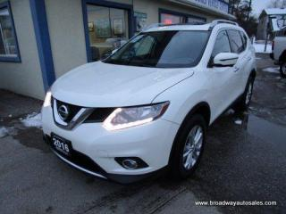 Used 2016 Nissan Rogue ALL-WHEEL DRIVE SV MODEL 5 PASSENGER 2.5L - DOHC.. SPORT & ECO MODE.. NAVIGATION.. HEATED SEATS.. PANORAMIC SUNROOF.. BACK-UP CAMERA.. BLUETOOTH.. for sale in Bradford, ON