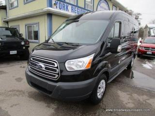 Used 2018 Ford Transit PEOPLE MOVING XLT EDITION 15 PASSENGER 3.7L - V6.. SLIDING PASSENGER DOOR.. MEDIUM ROOF HEIGHT.. 148-INCH-WHEEL-BASE.. BACK-UP CAMERA.. for sale in Bradford, ON
