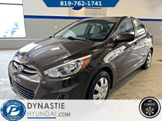 Used 2016 Hyundai Accent LE (Frais vip 495$ non inclus) for sale in Rouyn-Noranda, QC