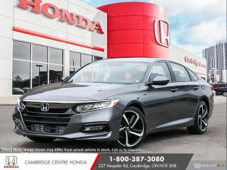 New 2020 Honda Accord Sport 2.0T APPLE CARPLAY™ & ANDROID AUTO™ | HEATED SEATS | HONDA LANEWATCH™ CAMERA for sale in Cambridge, ON