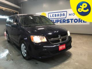Used 2016 Dodge Grand Caravan Savaria Caravan Wheel Chair Accessible * 5 Passenger * Lowered Floor * Electric Wheel Chair Ramp * Cruise Control * Steering Wheel Controls * Keyless for sale in Cambridge, ON