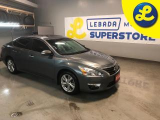 Used 2015 Nissan Altima SV * Navigation * Sunroof * Heated Leather Seats * Back Up Camera * Blind Spot Warning * Power Front Seats * Cruise Control * Bush Button Start *  Ste for sale in Cambridge, ON