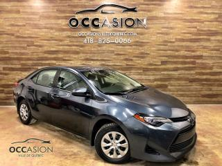 Used 2017 Toyota Corolla TOYOTA COROLLA CE AUTOMATIQUE 2017 GRIS for sale in Ste-Brigitte-de-Laval, QC