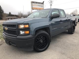 Used 2014 Chevrolet Silverado 1500 2WT 6cylinder Dbl Cab 2WD! Perfect work truck with Cruise, Air, Pwr Windows and Alloys! for sale in Kemptville, ON