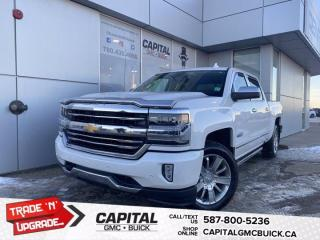 Used 2016 Chevrolet Silverado 1500 High Country Crew Cab 5.3L, FULL LOAD, NAV, Sunroof! for sale in Edmonton, AB