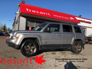 Used 2017 Jeep Patriot 75th Anniversary, Sunroof, Leather, Power Windows! for sale in Surrey, BC