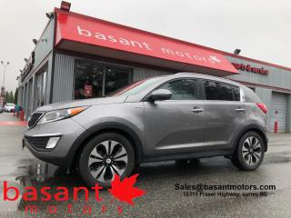 Used 2012 Kia Sportage SX, Nav, PanoRoof, Heated Seats, Leather!! for sale in Surrey, BC