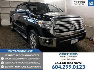 Used 2016 Toyota Tundra Limited 5.7L V8 for sale in Burnaby, BC