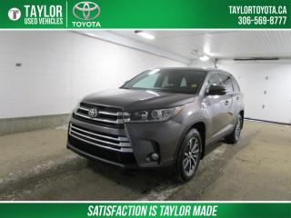 Used 2019 Toyota Highlander XLE CERTIFIED! EXTENDED WARRANTY for sale in Regina, SK