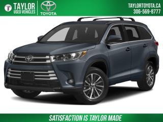 Used 2018 Toyota Highlander LIMITED  for sale in Regina, SK