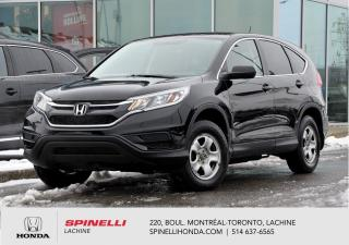Used 2016 Honda CR-V LX AWD CRUISE BLUETOOTH *AWD*AC*AUTO*CRUISE*BLUETOOTH*SIEGES CHAUFFANTS*++ for sale in Lachine, QC