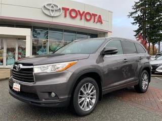 Used 2015 Toyota Highlander XLE AWD for sale in Surrey, BC