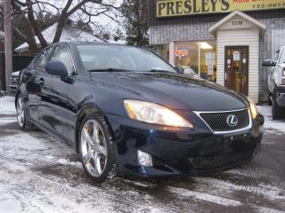 Used 2008 Lexus IS 250 RWD Manual AC Sunroof Htd Leather Cruise PL PM PW for sale in Ottawa, ON