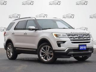 Used 2018 Ford Explorer LIMITED for sale in Waterloo, ON