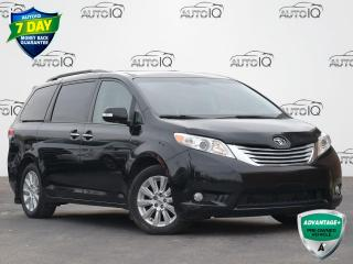 Used 2014 Toyota Sienna XLE 7 Passenger XLE   AWD   LEATHER   DVD ENTERTAINMENT   MOONROOF    7 PASSENGER for sale in Waterloo, ON