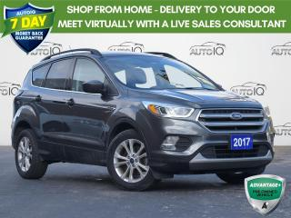 Used 2017 Ford Escape SE | FWD | LEATHER | NAVIGATION| SYNC 3 | ONE OWNER | for sale in Waterloo, ON