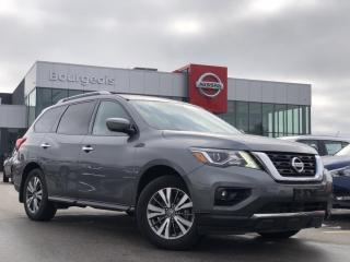 Used 2018 Nissan Pathfinder SL Premium *CPO* LEATHER, NAVIGATION, MOONROOF for sale in Midland, ON