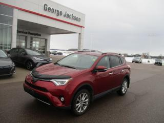Used 2018 Toyota RAV4 LIMITED  for sale in Renfrew, ON
