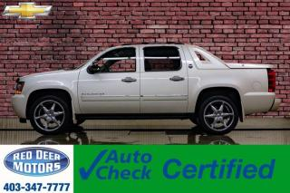 Used 2013 Chevrolet Avalanche 4x4 Crew Cab LTZ Black Diamond Leather Roof Nav DVD for sale in Red Deer, AB