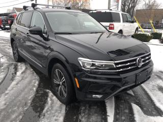 Used 2020 Volkswagen Tiguan Highline for sale in Cornwall, ON