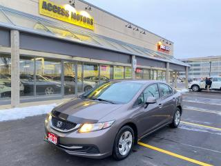 Used 2013 Honda Civic Sdn 4dr Auto LX for sale in North York, ON