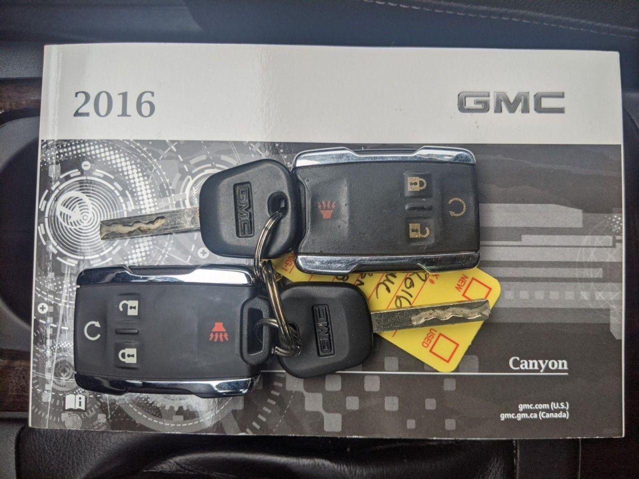 2016 GMC Canyon