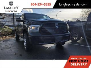 Used 2017 RAM 1500 SXT  Sport Appearance/ Accident Free/ Low KM for sale in Surrey, BC