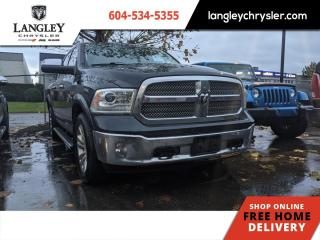 Used 2013 RAM 1500 LARAMIE LONGHORN  Low KM/ Tonneau/ Plenty of Options for sale in Surrey, BC