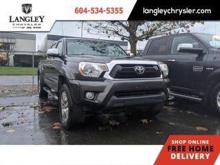 Used 2013 Toyota Tacoma LTD  Local/ 4x4/ Leather/ Backup for sale in Surrey, BC