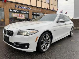 Used 2016 BMW 5 Series 4dr Sdn 535i xDrive AWD / NAVIGATION / BLIND SPOT for sale in North York, ON