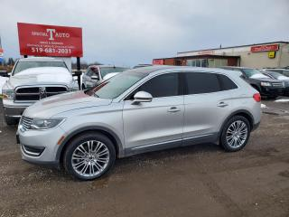 Used 2016 Lincoln MKX Reserve for sale in London, ON