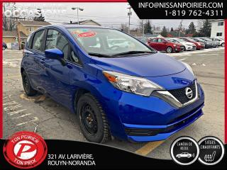 Used 2017 Nissan Versa Note Sv ( frais vip 395$ non inclus) for sale in Rouyn-Noranda, QC