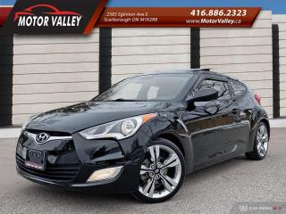 Used 2013 Hyundai Veloster w/Tech Pkg! Only 084,944KM Navigation! for sale in Scarborough, ON