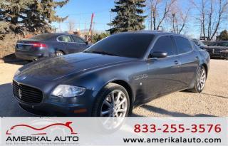 Used 2006 Maserati Quattroporte for sale in Winnipeg, MB