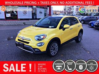 Used 2016 Fiat 500 X Trekking - Dual Pane Sunroof / No Accident / Local for sale in Richmond, BC