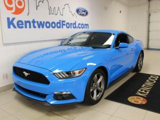 Used 2017 Ford Mustang GRABBER BLUE | AUTOMATIC | MUSTANG | for sale in Edmonton, AB