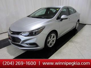 Used 2017 Chevrolet Cruze Premier *Accident Free!* for sale in Winnipeg, MB