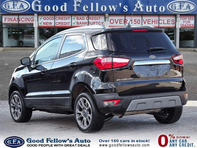 2018 Ford EcoSport TITANIUM, SUN ROOF, NAVI, 4WD, REARVIEW CAMERA