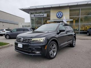 Used 2018 Volkswagen Tiguan Highline 4dr AWD 4MOTION for sale in Burlington, ON